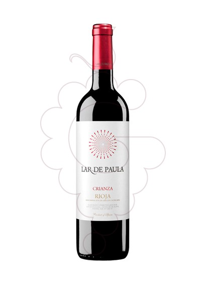 Photo Lar de Paula Crianza red wine