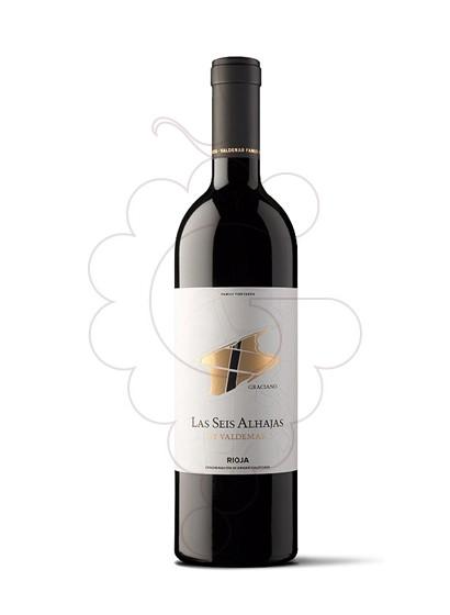 Photo Inspiración Valdemar Las Seis Alhajas red wine
