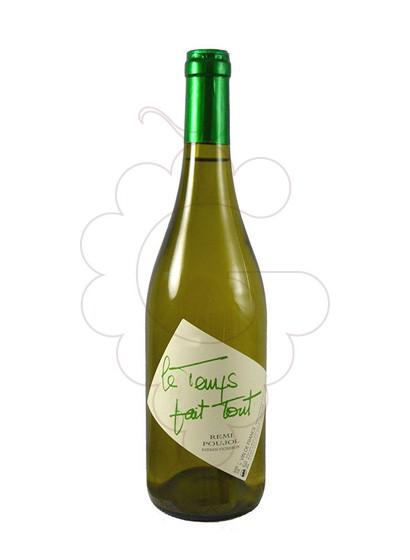 Photo White Le Temps Fait Tout white wine