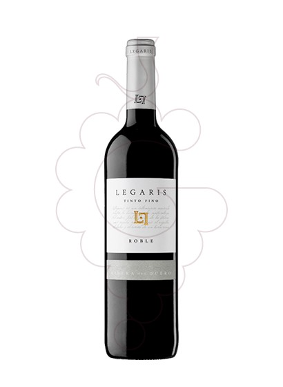 Photo Legaris Roble red wine
