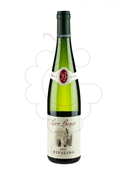 Photo Leon Beyer Riesling Blanc white wine