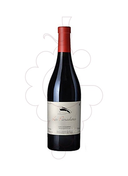Photo Les Paradetes  red wine