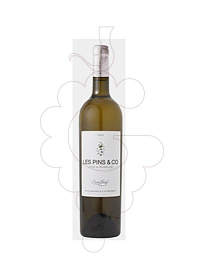 Photo Les Pins & Co Blanc white wine