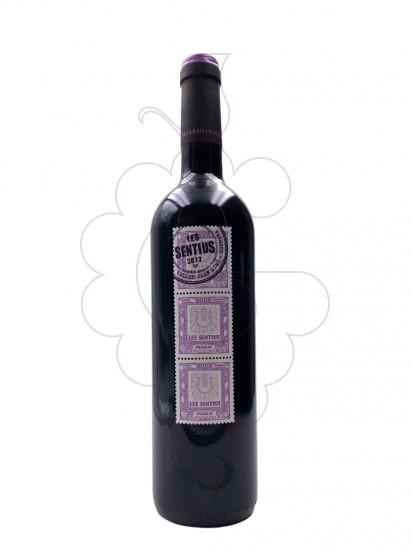 Photo Les Sentius red wine