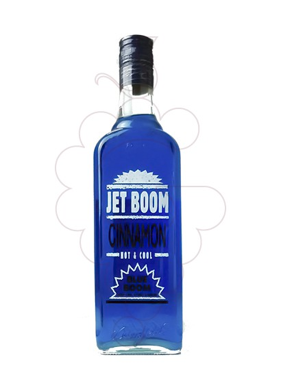 Photo Liqueur Jet Boom Cinnamon Blue