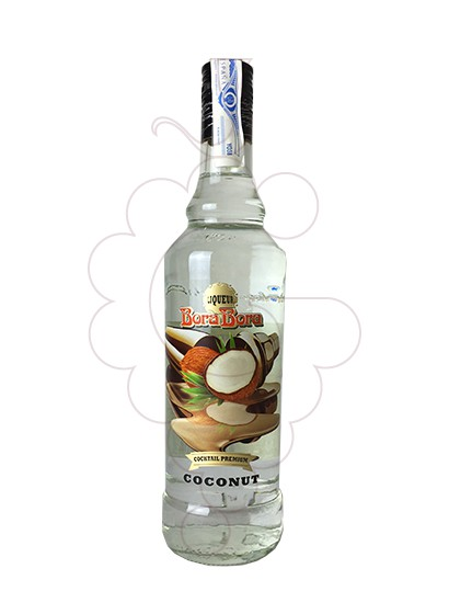 Photo Liqueur Licor Coconut Tunel Ban