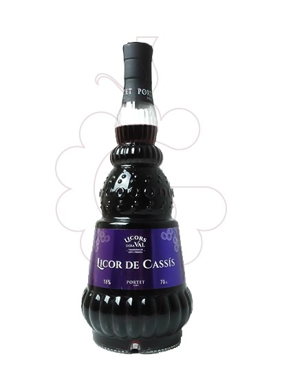 Photo Liqueur Licor de Cassis Dera Val