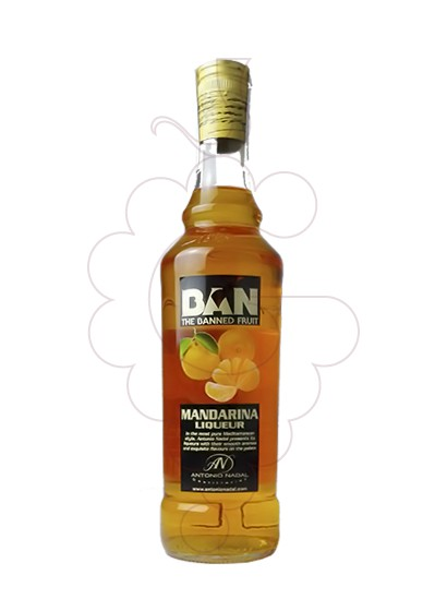 Photo Liqueur Licor Mandarina Tunel Ban