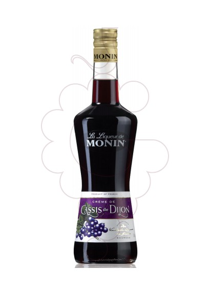 Photo Liqueur Licor Monin Cassis Dijon