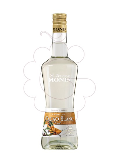 Photo Liqueur Licor Monin Creme Cacao Blanc