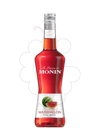 Photo Liqueur Licor Monin Watermelon