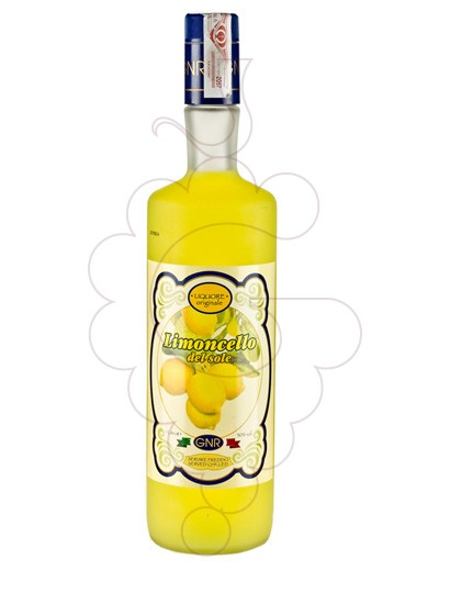 Photo Liqueur Limoncello del Sole