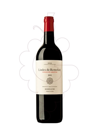 Photo Lindes de remelluri (Labastida) red wine