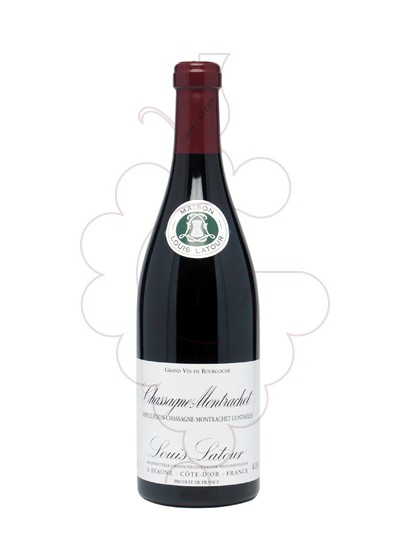 Photo Red Louis Latour Chassagne-Montrachet red wine