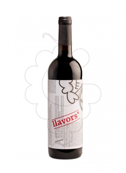 Photo Llavors Negre red wine