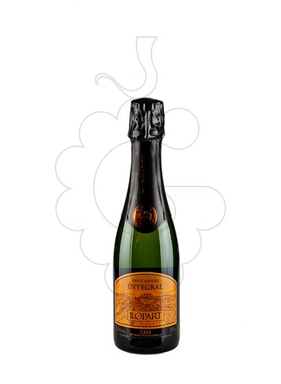 Photo Llopart Integral Brut Nature (mini) sparkling wine