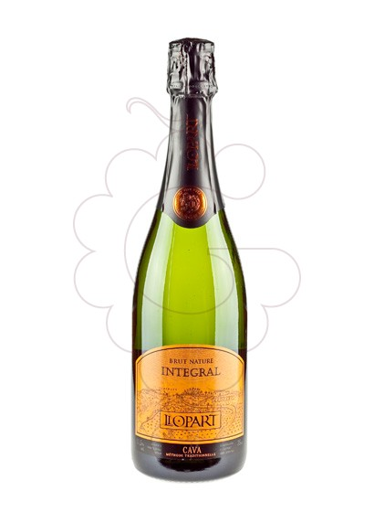 Photo Llopart Integral Brut Nature sparkling wine