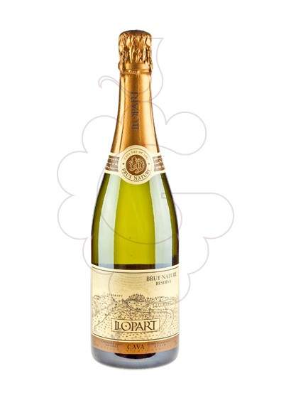 Photo Llopart Reserva Brut Nature sparkling wine
