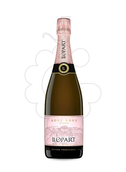 Photo Llopart Rosse Brut sparkling wine
