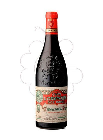 Photo Amouroux Clos de l'Oratoire des Papes  red wine