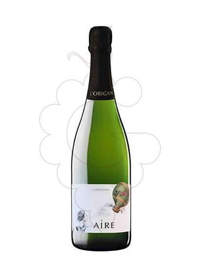 Photo L'Origan Aire Brut Nature sparkling wine