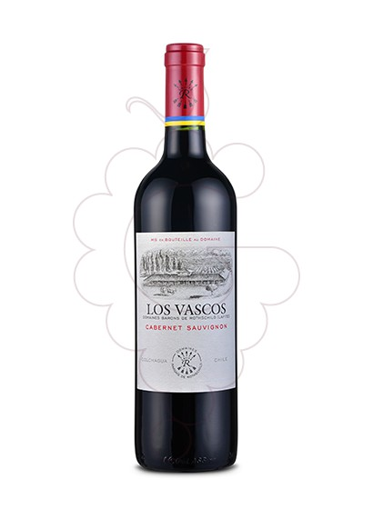 Photo Los Vascos Cabernet Sauvignon red wine