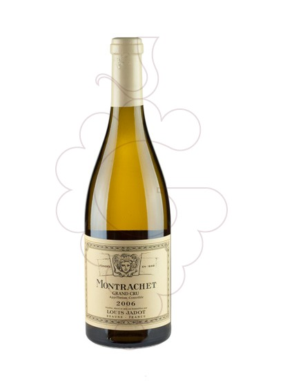 Photo L. Jadot Montrachet Grand Cru white wine