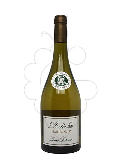 Photo Louis Latour Ardèche Chardonnay white wine