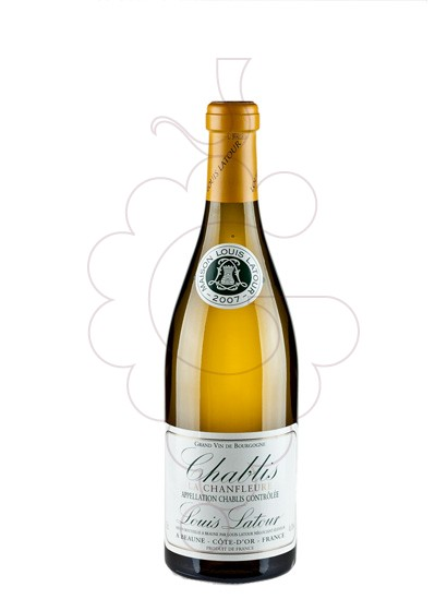 Photo Louis Latour Chablis Chanfleure white wine