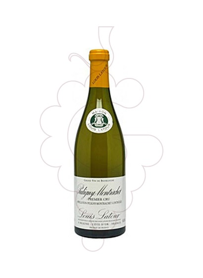 Photo Louis Latour Chassagne-Montrachet Premier Cru white wine