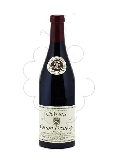 Photo Louis Latour Corton Grancey  red wine