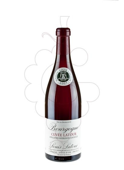 Photo Louis Latour Cuvée red wine