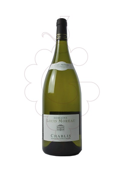 Photo Louis Moreau Chablis Magnum white wine