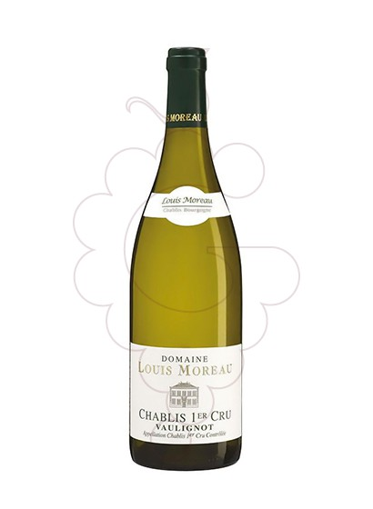 Photo Louis Moreau Chablis 1er Cru Vaillons white wine