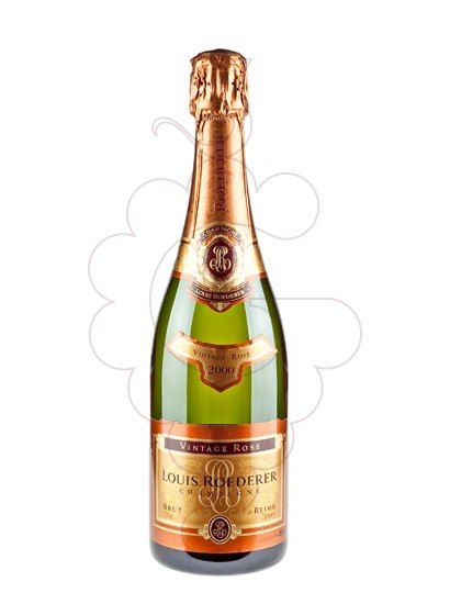 Photo Louis Roederer Rose Vintage sparkling wine