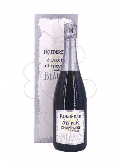 Photo Louis Roederer Starck Brut Nature sparkling wine
