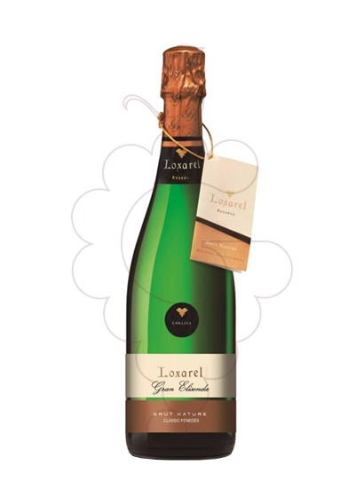 Photo Loxarel Reserva Brut Nature sparkling wine