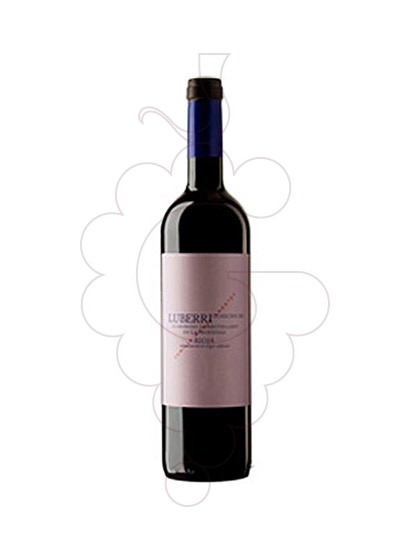 Photo Luberri red wine