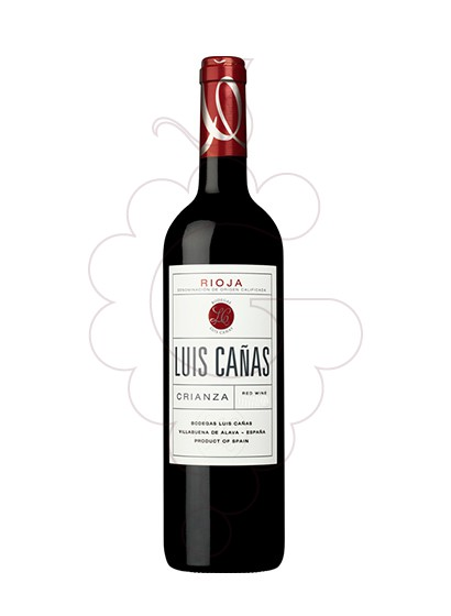 Photo Luis Cañas Crianza red wine