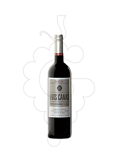 Photo Luis Cañas Gran Reserva red wine