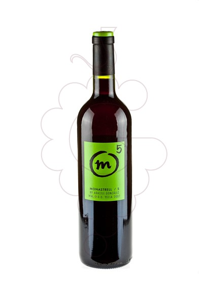 Photo M 5 Monastrell red wine