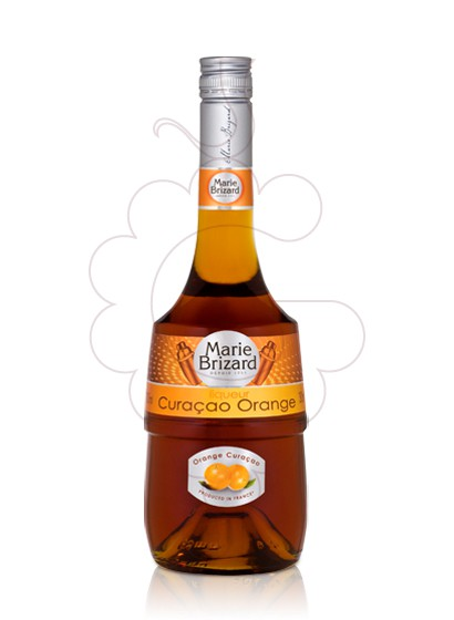 Photo Liqueur M. Brizard Curaçao Orange