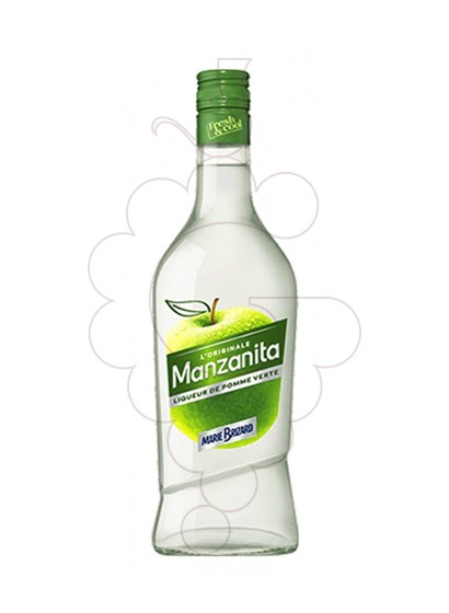 Photo Liqueur M. Brizard Manzana Verde