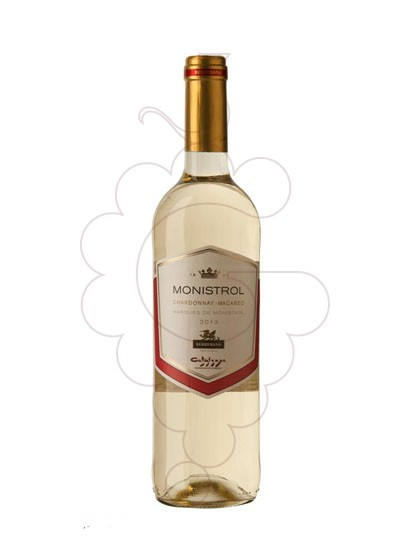 Photo M. Monistrol Blanc Sec white wine