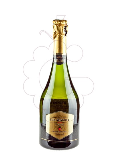Photo M. Monistrol Clos Brut Nature sparkling wine