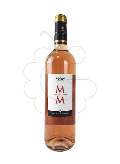Photo Rosé M M rosé wine