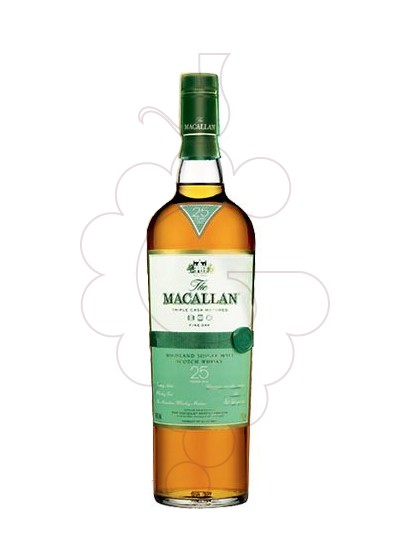 Photo Whisky Macallan Fine Oak 25 Years