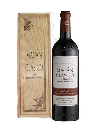 Photo Macán Clásico Magnum red wine
