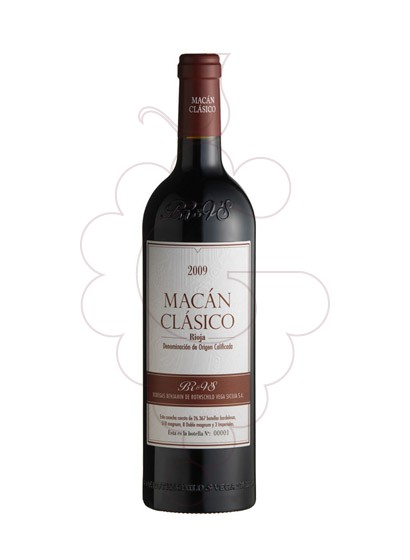 Photo Macán Clásico  red wine