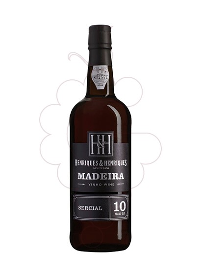 Photo Madeira H&H 10 Years fortified wine